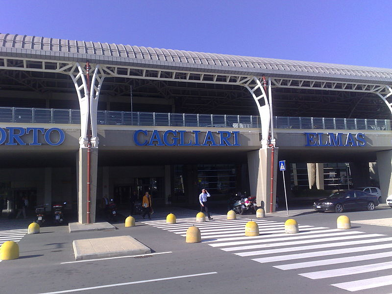 Cagliari Elmas Airport is the main international gateway to the island of Sardinia in Italy.