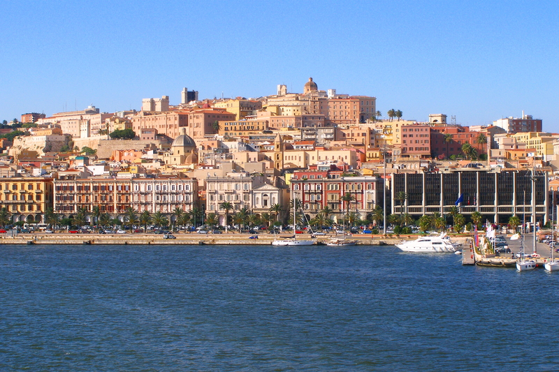 Cagliari is the capital city of Sardinia.
