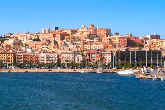 Cagliari is the largest and main city of Sardinia.